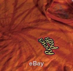 100% Authentic Travis Scott Reeses Puffs Cactus Jack Merch T Shirt Size Small