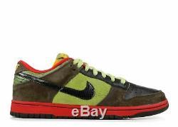 2009 Nike SB Dunk Low Premium Asparagus SZ 10 Paris Unkle Krueger 313170-30
