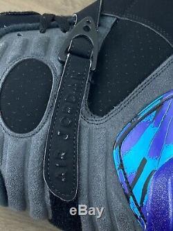 2015 Air Jordan 8 Aqua OG Size 11.5 305381-025 Mens Retro Black Concord Purple