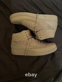 2016 Just Don x Nike Air Jordan 2 Retro Beach Sneakers