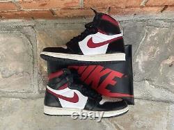 2019 Air Jordan 1 Retro High OG Gym Red MEN SIZE US 9 555088-061