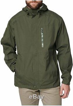 5.11 Tactical Men's Waterproof Aurora Shell Jacket Lightweight, Style 48343