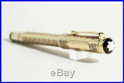 925 Silver Limited Edition MONTBLANC Fountain Pen LOUIS XIV PATRON OF ART