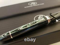 ARMANDO Simoni Club Pavarotti Limited Edition Arco Verde Fountain Pen, NOS
