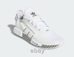 Adidas NMD R1 V2 Casual Mesh Lifestyle Sneakers Shoes FY2105 White Mens 7.5 NEW