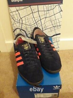 Adidas Shanghai. Size Exclusive City Series. UK. 9. + Booklet