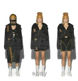 Adidas X Ivy Park Beyonce Gender Neutral Black Convertible Jacket Size Small