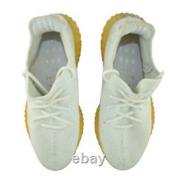Adidas Yeezy Boost CP9366 Mens 10.5 Cream White In Excellent Condition Overall