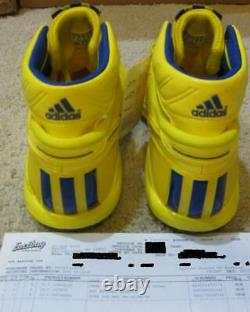 Adidas adiZero D Rose 1 OG 2011 NBA All Star Shoes Yellow Blue Simeon 2 3 Men 10