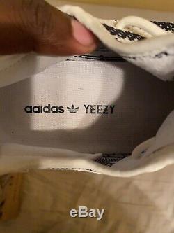 Adidas x Kanye West Size 12 Yeezy Boost 350 V2 Zebra Sneakers