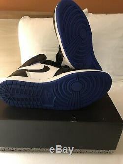 Air Jordan 1 Royal Toe Retro High OG Game Royal Blue 555088-041 Size 11