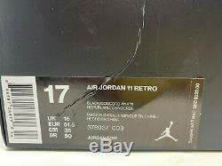 Air Jordan 11 Retro Space Jam 2016 378037-003 Size 17 NO BOX TOP
