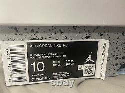 Air Jordan 4 Retro University Blue Size 10 Brand New. Fast shipping, Og all