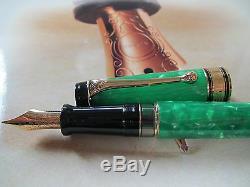 Aurora Primavera Limited Edition 18kt gold nib fountain pen MIB