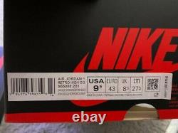 Brand New Nike Air Jordan 1 Retro High Og Tokyo Bio Hack 555088-201 Sz. 9.5