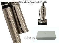 CARTIER Happy B Day 160 Anni Limited Edition Fountain Pen 750 white Gold nib