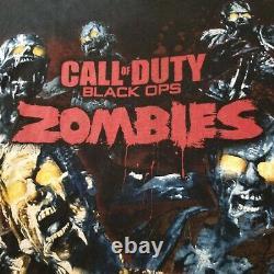 Call Of Duty Black Ops Zombies Shirt Men's XXL Sony Playstation Retro