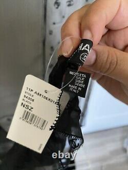 Chanel Blacks Scarf Chiffon Silk Cc Logo Shawl Brand New With Tag, Made In Italy