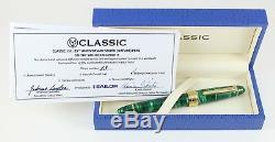 Classic Pens LB5 Midorigi (Green) Limited Edition Fountain Pen Broad Nib