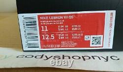 DS Nike Lebron 7 QS Red Carpet 2019 size 11 White Blue Retro VII Max CU5133-100