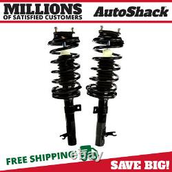 Front Complete Strut & Coil Spring Assembly Pair 2 for 2000-2005 Ford Focus 2.3L
