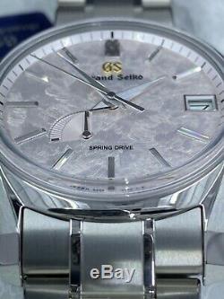 Grand Seiko Four Seasons SBGA413 SHUNBUN Spring Drive Titanium