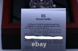 Grand Seiko SBGA405 Godzilla Spring Drive Limited Ed 2020 Unworn