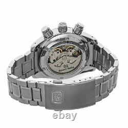 Grand Seiko Sport Collection Spring Drive GMT Steel Mens Watch Date SBGC203