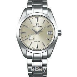 Grand Seiko Spring Drive Men's Stainless Steel Watch SBGA201