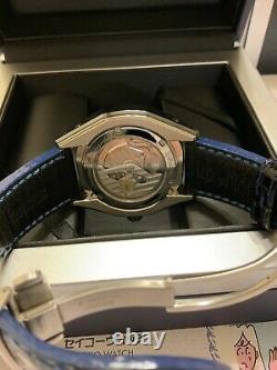 Grand Seiko spring drive GMT SBGE039 Limited 500 edition ceramic titanium