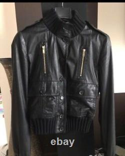 Gucci Madonna authentic luxury leather jacket Italy NP£2800
