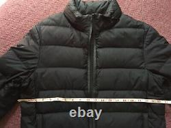 Gucci Viaggio Puffer Jacket Mens Small Womens Medium Black Bubble Coat Italy