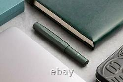 Kaweco AL Sport Fountain Pen Limited Edition Midnight Green, Fine Nib