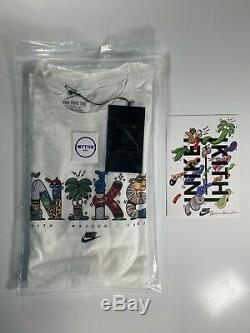 Kith x Steve Harrington Nike Tee Large Limited Edition + Signed Card Large BNWT