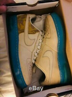 Kobe Bryant Nike Air Force 1 Supreme Basketball Sneaker 315095-221 Black Mamba 8