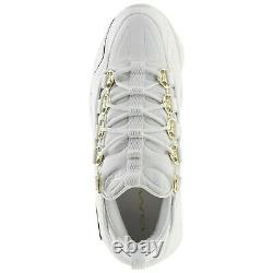LIMITED Men's Reebok Classics DMX RUN 10 AFF Casual Shoes White/Gold New CN1653