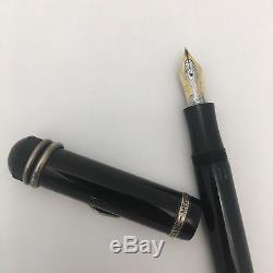 Limited Edition Montblanc Agatha Christie Fountain Pen with Gold Snake Nib