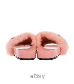 Louis Vuitton Logo Pink Mink Flip Flops