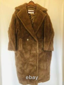 MAX MARA LUXURIOUS COUTURE FIRST EDITION SOLD OUT TEDDY BEAR COAT! Size Small