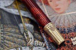 MONTBLANC 2010 Elizabeth I Patron of Art Limited Edition 177/888 Fountain Pen M