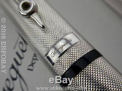 MONTEGRAPPA for BREGUET 925 Sterling Silver Limited Edition #415 Fountain Pen F