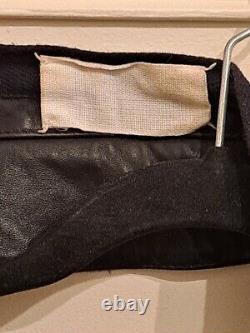 Maison Martin Margiela Vintage Rare Archive Grail Hot af Leather Collar Vest