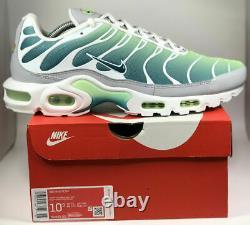 Mens Nike Air Max Plus TN Running Shoes Green 852630-302 Sz 8.5
