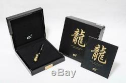 Mont Blanc Wannian Pen Year Of The Golden Dragon Limited Edition 2000 Part