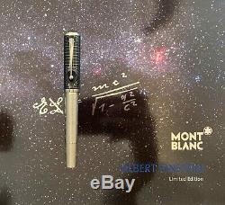 MontBlanc Albert Einstein Great Characters Limited Edition Fountain Pen