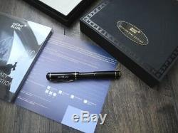 Montblanc 100 Years Anniversary 1906-2006 Limited Edition Gold Fountain Pen New