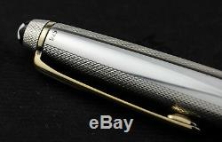 Montblanc Meisterstuck Solitaire 144 Barley Silver Limited Edition Fountain Pen