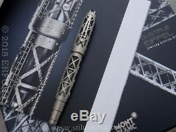 Montblanc Skeleton Gustave Eiffel Artisan Limited Edition 91 750 Gold Year 2011