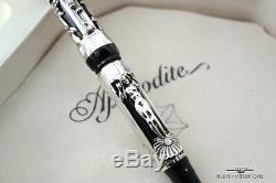 Montegrappa Aphrodite Limited Edition Silver Fountain Pen -#469/1912