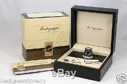 Montegrappa Limited Edition Cosmopolitan Victorian London Silver Fountain Pen